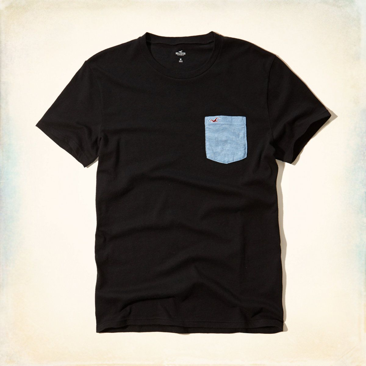 Guys Must-Have Contrast Pocket T-Shirt | Guys Secret Sale | HollisterCo.com