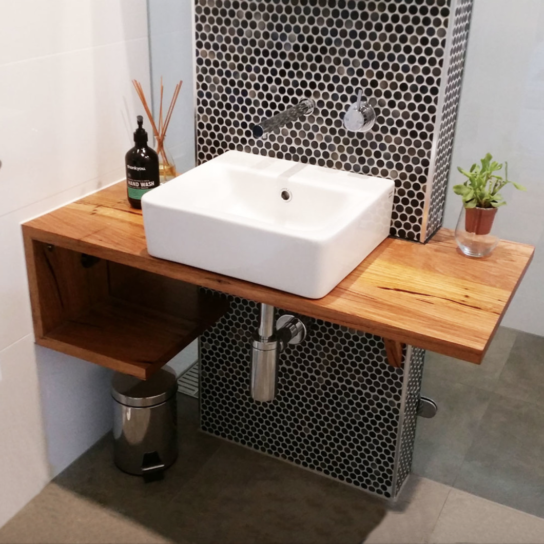 Custom Made Recycled Timber Vanity We Supply Tops And Full Units For Bathrooms Powder Rooms