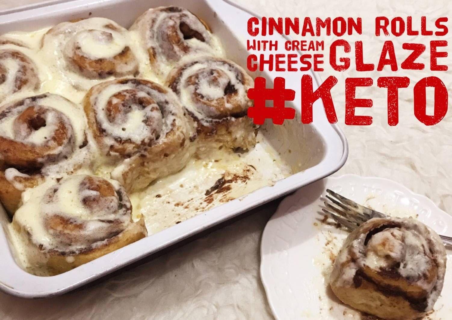 Resep Keto Cinnamon Rolls With Cream Cheese Glaze Allaire Bread Flour Oleh Rina Ardis Rhaxma Resep Roti Cinnamon Roll Keju Krim Resep Keto