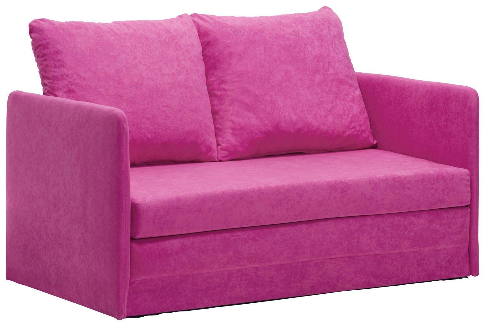 Schlafsofa rosa   Kinder sofa, Kindersofa und Sofa