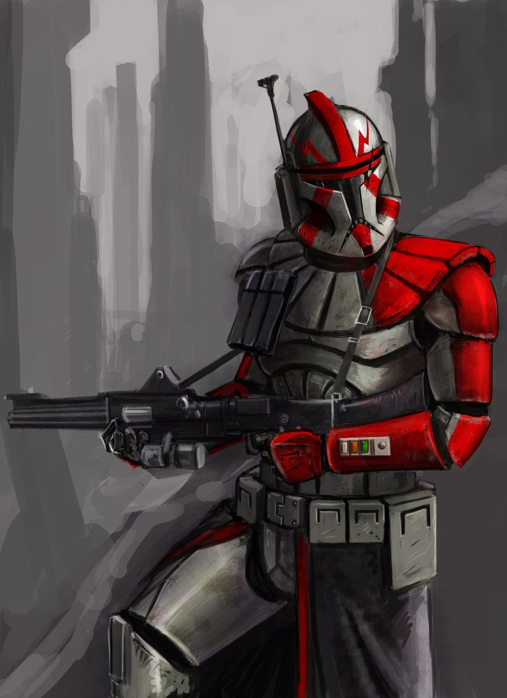 Clone Trooper By Andgil On Deviantart Star Wars Drawings Star Wars Images Star Wars Artwork