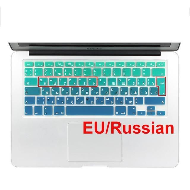 "Dust Proof Keyboard Skin Keyboard Cover Protector Skin for MacBook Pro 13/"" 15/"""