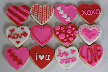 Not So Newlywed Mcgees Valentine S Day Sugar Cookies Royal Icing