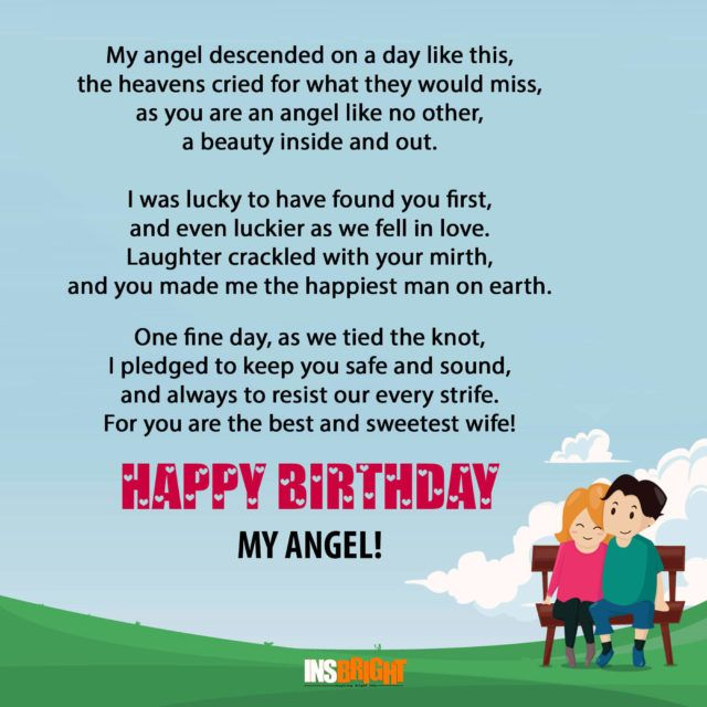 Fantastic Romantic Happy Birthday Poems For Wife With Love From Husband Personalised Birthday Cards Veneteletsinfo