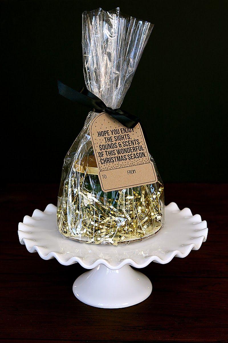 Gift Bag Idea + Free Printable Tag I Heart Nap Time | I Heart Nap Time - Easy recipes, DIY crafts, Homemaking