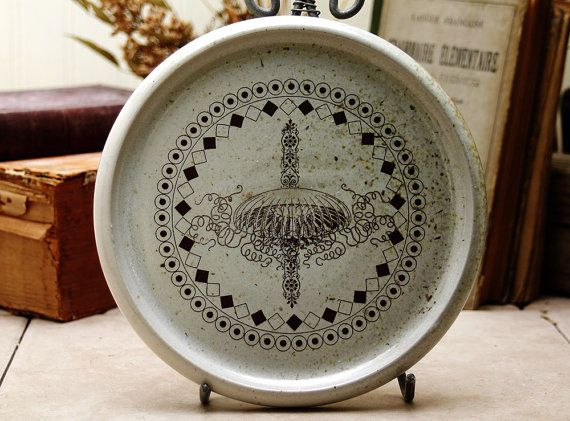Salad Plate  Jellyfish by mudstuffing on Etsy, $40.00