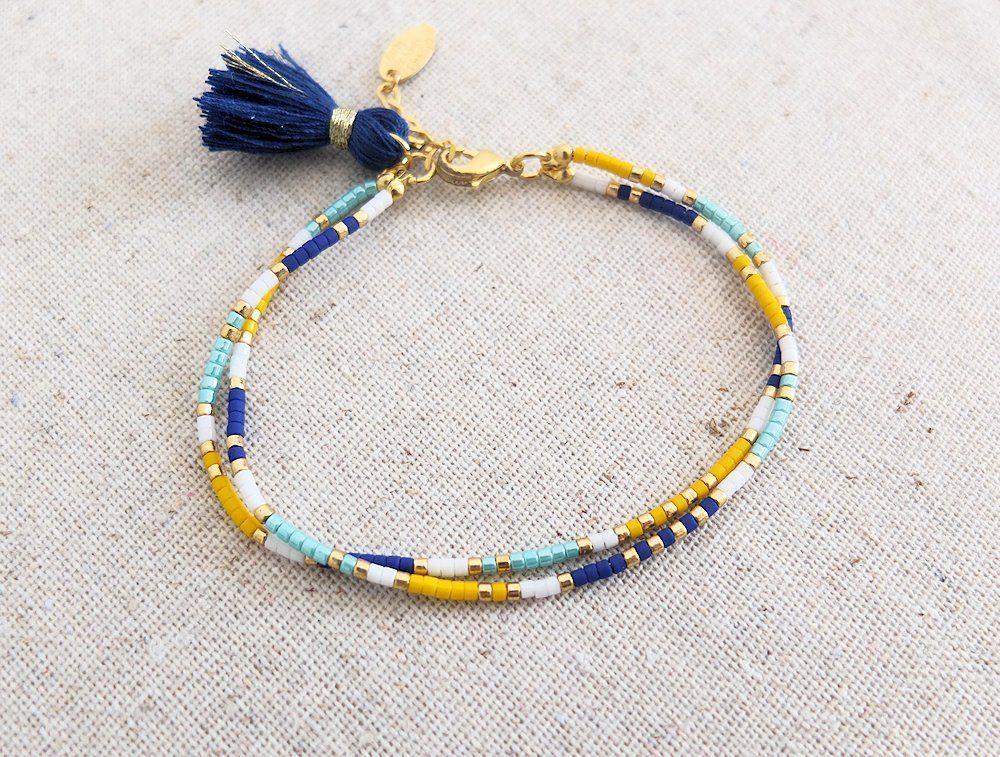bracelet perles tuto