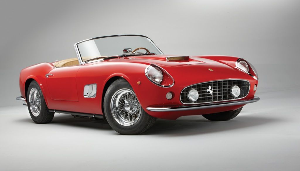 1962 Ferrari 250 GT SWB California Spyder Photo Gallery