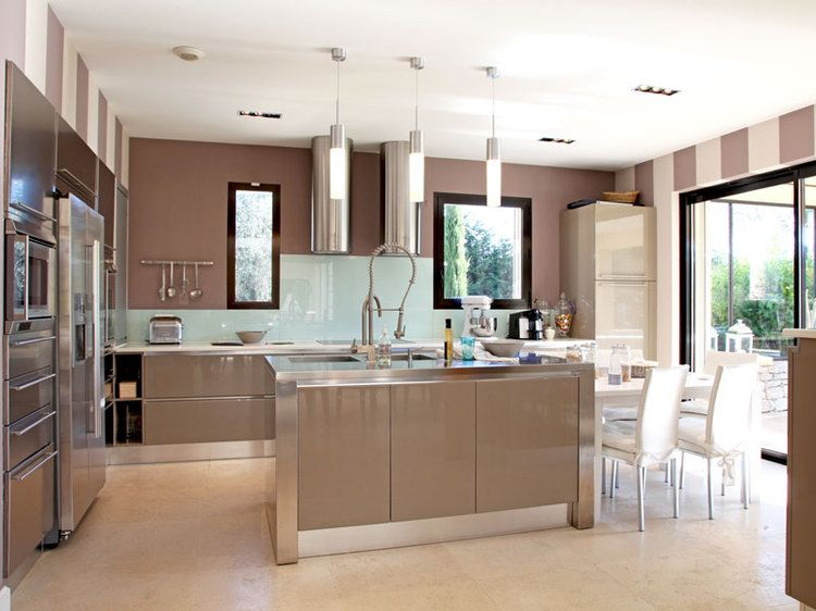 Bayadère taupe clair - cuisine | DECO | Pinterest | Taupe, Cuisines ...