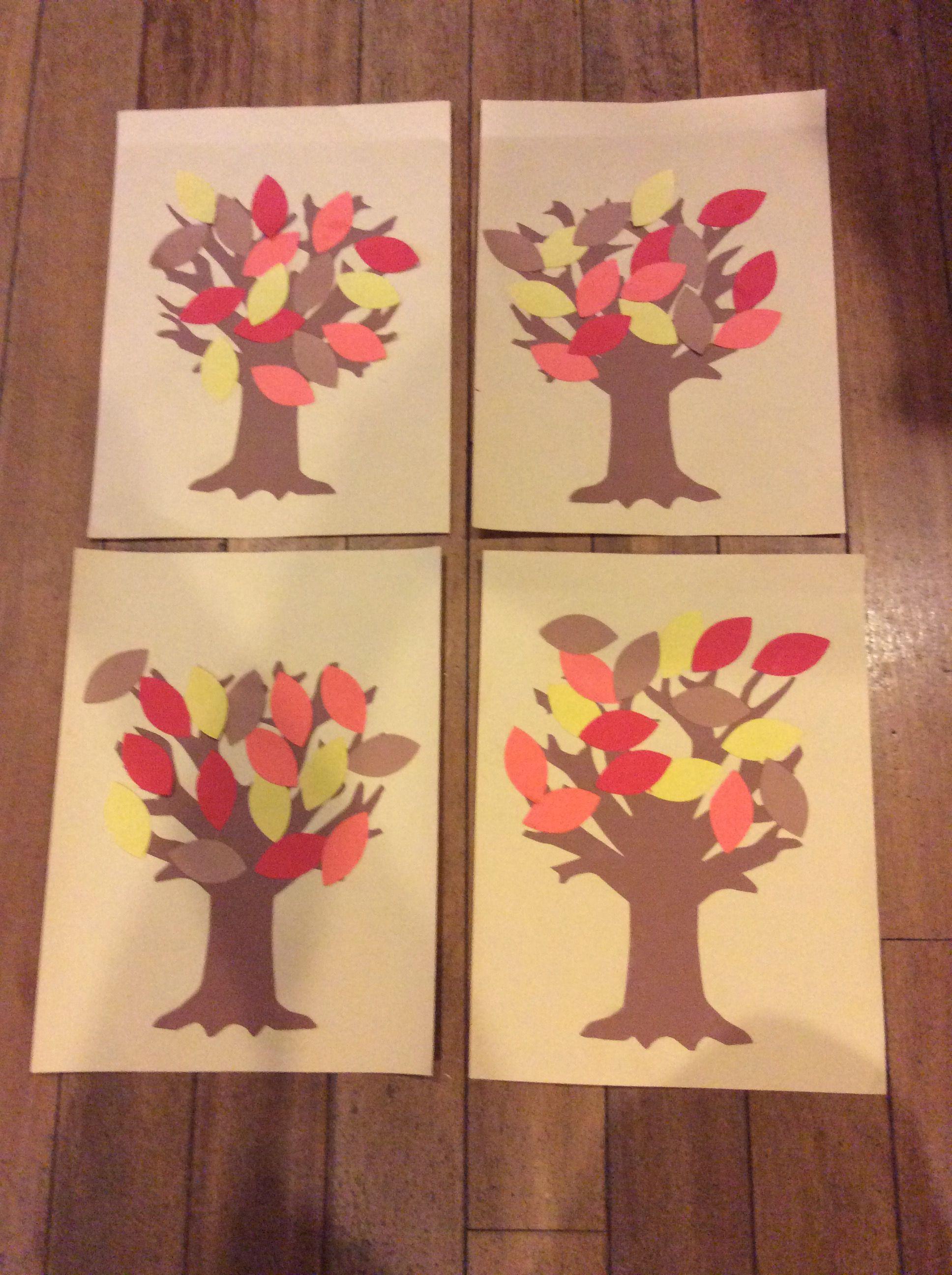 Fall Trees 2018 2019 Preschool Pinterest Preschool Autumn