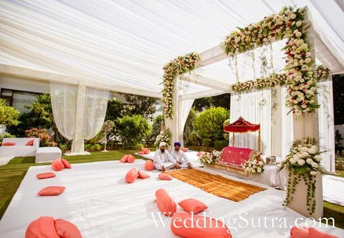 Punjabi Wedding Inspiration For Indian Wedding Decorations In The