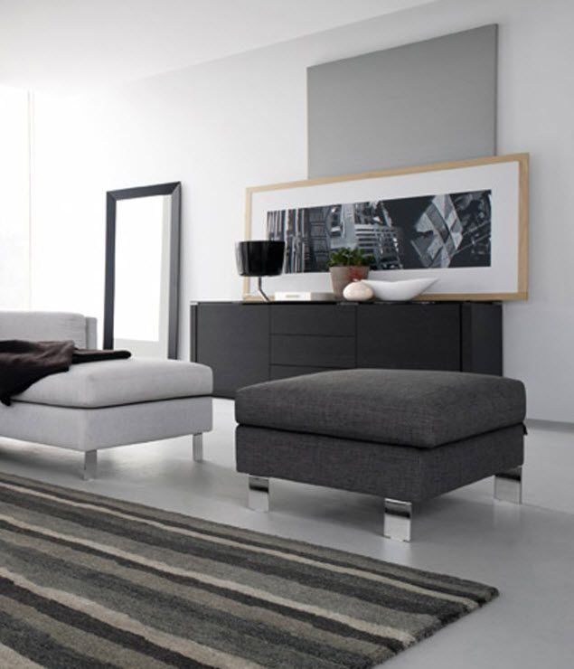 otomana moderna LILLE by S.T.C. Calligaris Italian home design since ...