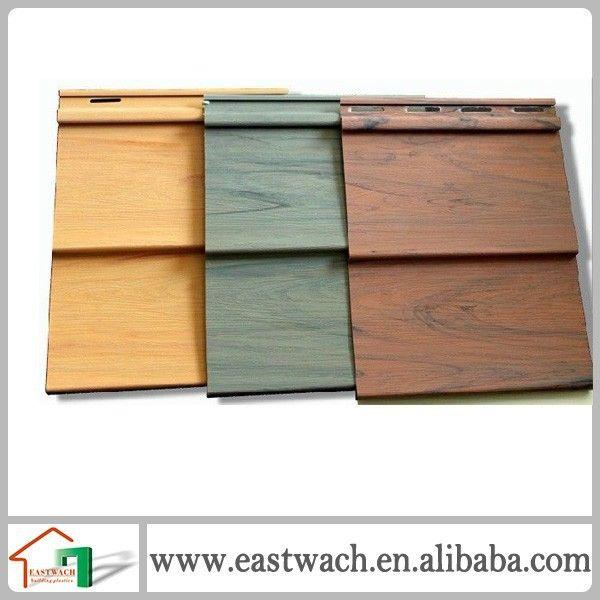 Ultra Violet Contre Bois Pvc Vinyle Composite Revetement Exterieur Pvc Revetement Mural Vinyl Siding Log Cabin Vinyl Siding Wood Siding Exterior