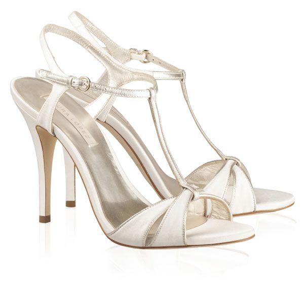 Zapatos de novia de Pura López 2013  boda  zapatos  novia  a0f29582b6c8