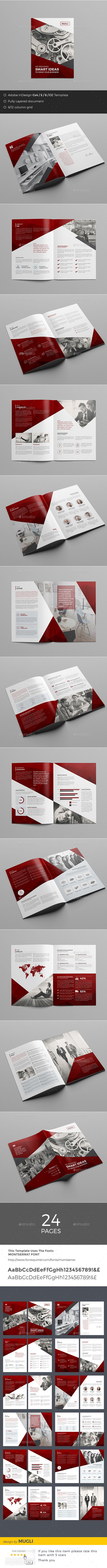 Corporate Brochure | Broschüren, Gestaltungsraster und Broschüre vorlage