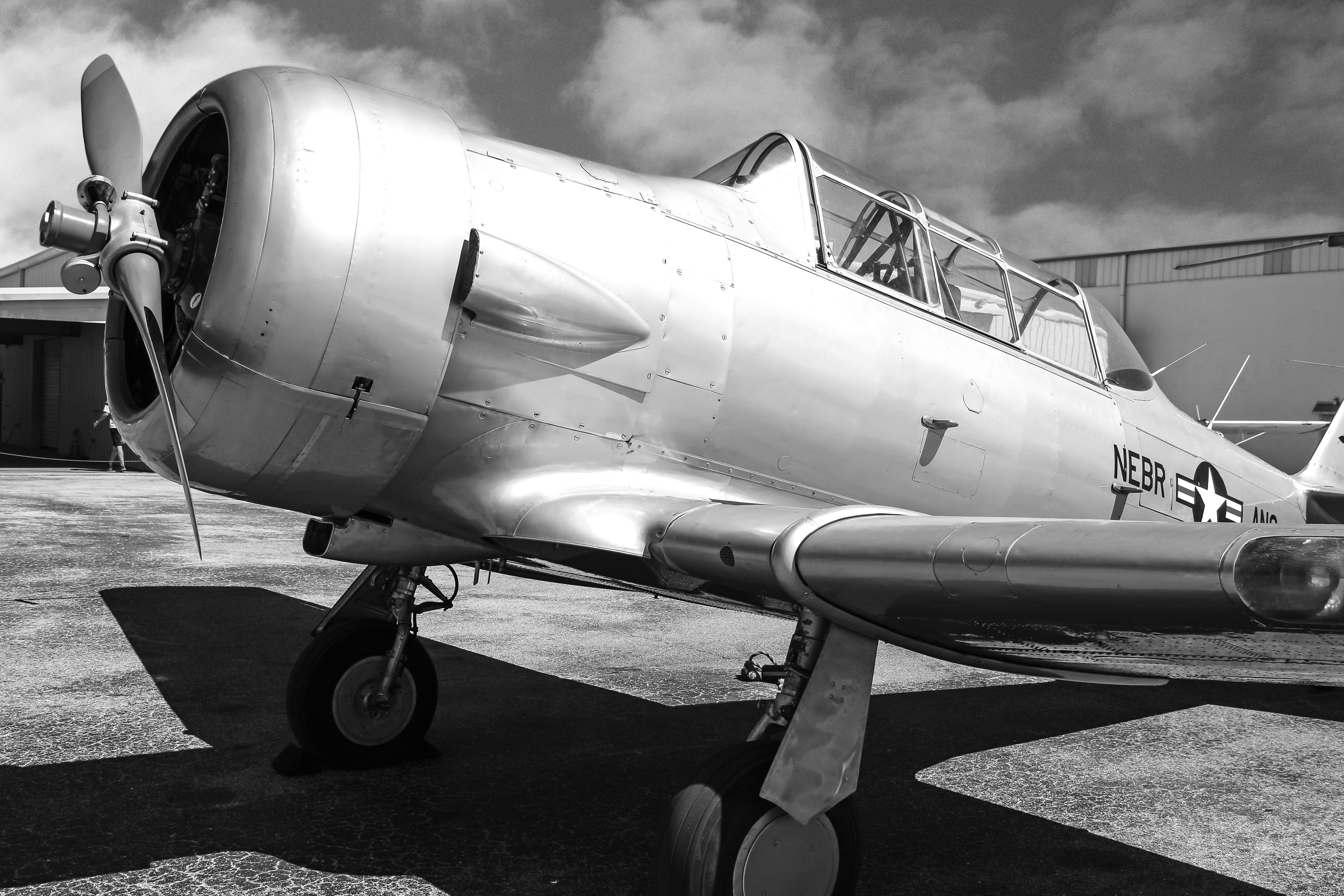 at6 texan vintage aviation wall decor print 12x18in satin photo