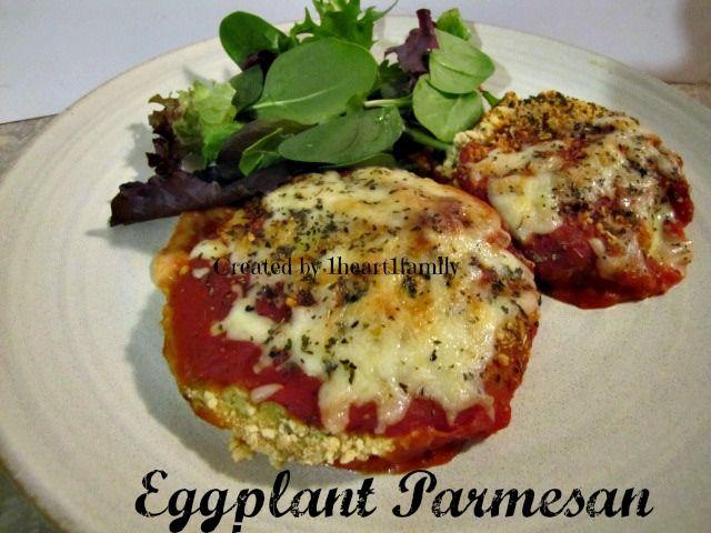 Food Friday~ Eggplant Parmesan