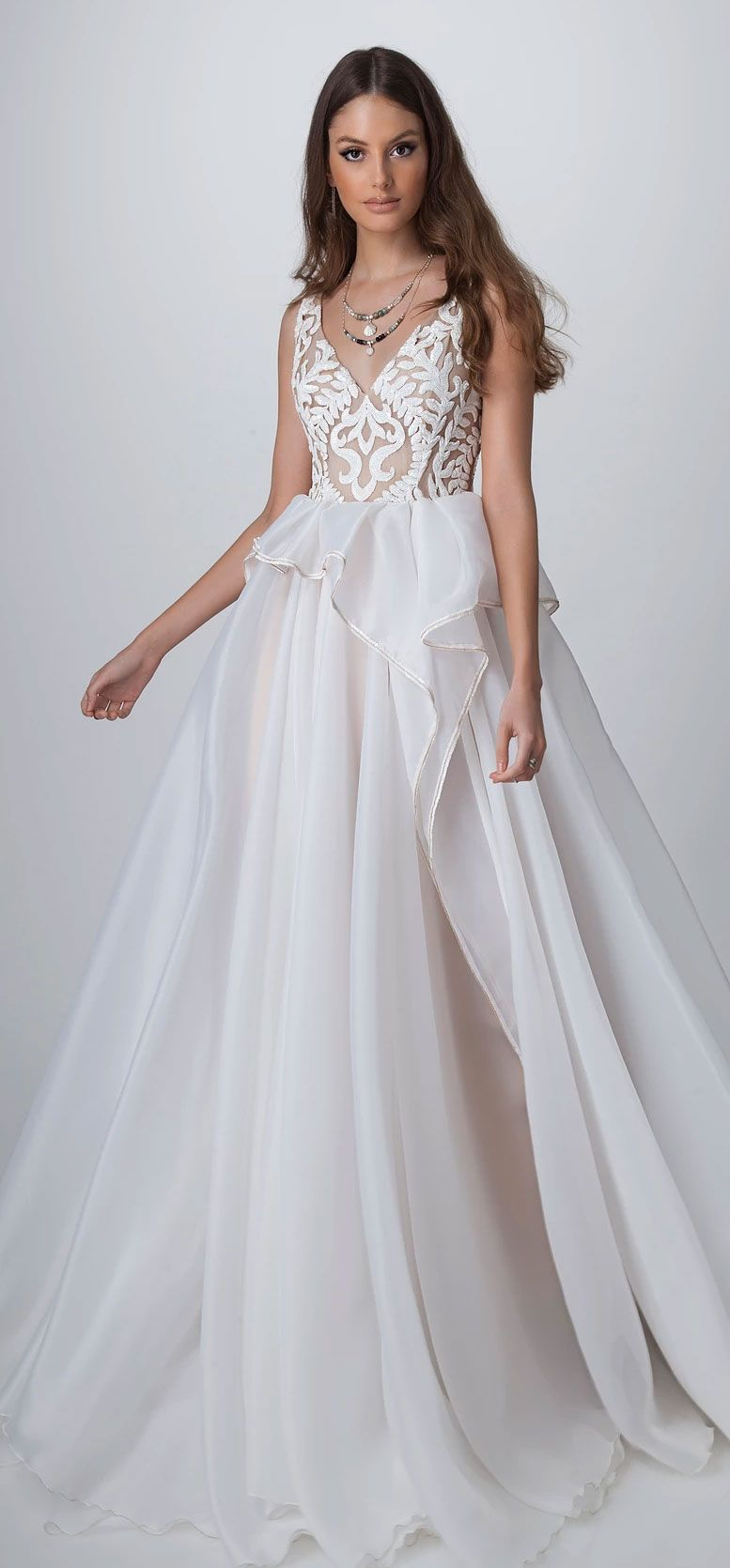 Dreamy boho chic wedding dresses