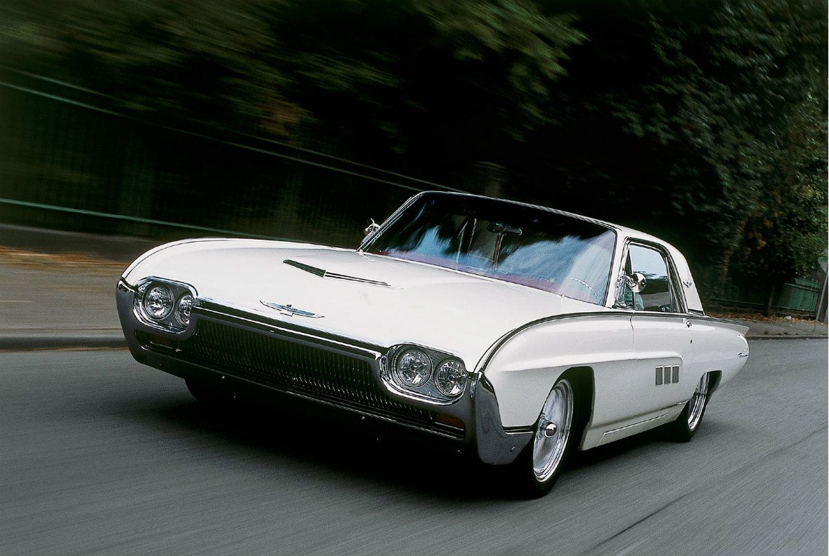 Iconic Cars Of The 60 S Page 12 Of 53 Ford Thunderbird