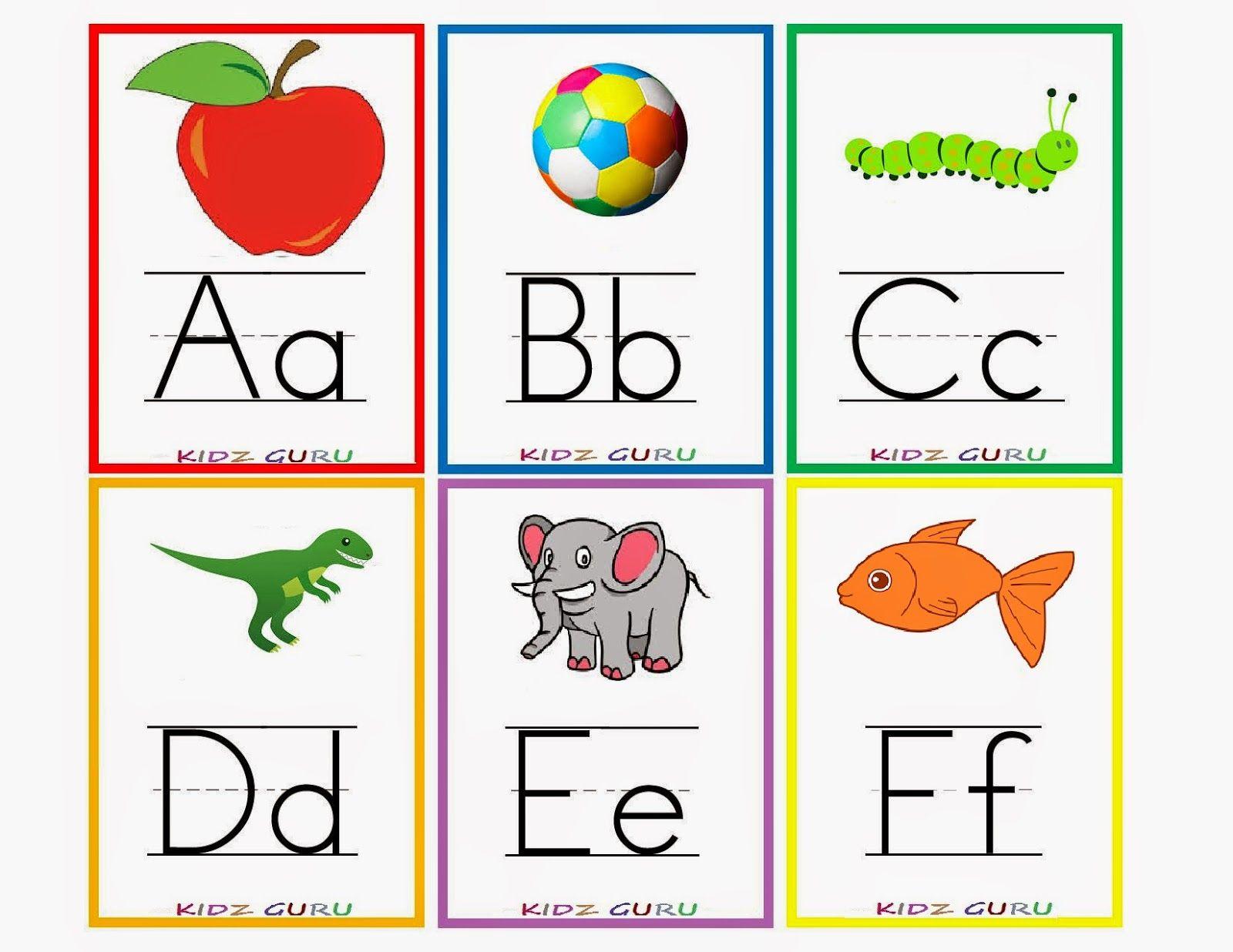 Kindergarten Worksheets: Printable Worksheets - Alphabet ...