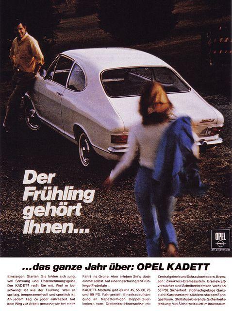 Opel Kadett B 1969 Coupe Ls Der Fruhling Gehort Ihnen Car