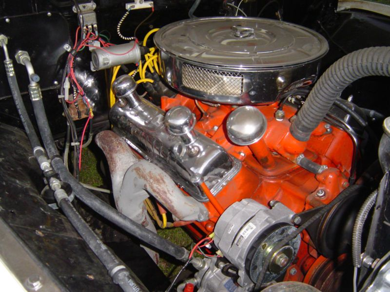 1956 Ford F100 Y Block With Rams Horn Exhaust Manifold Ford Y