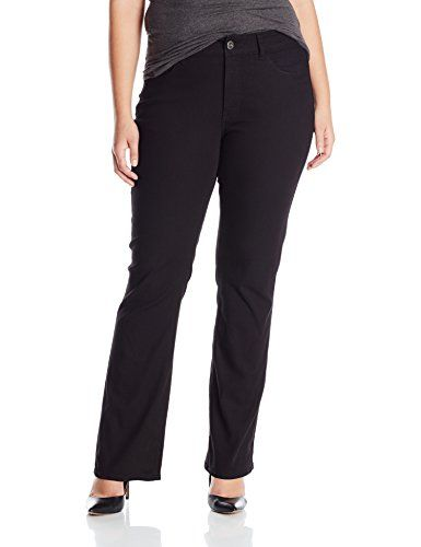 9e806ea9e0 Riders by Lee Indigo Women s Plus-Size Stretch Fit No Gap Boot Cut Jean