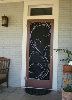 Decorative Screen Doors Google Search In 2020 Old Screen Doors Decorative Screen Doors Screen Door