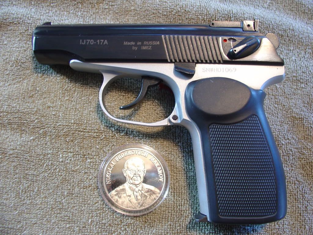 Two Toned Makarov Save Those Thumbs Bucks W Free Shipping On Images, Photos, Reviews