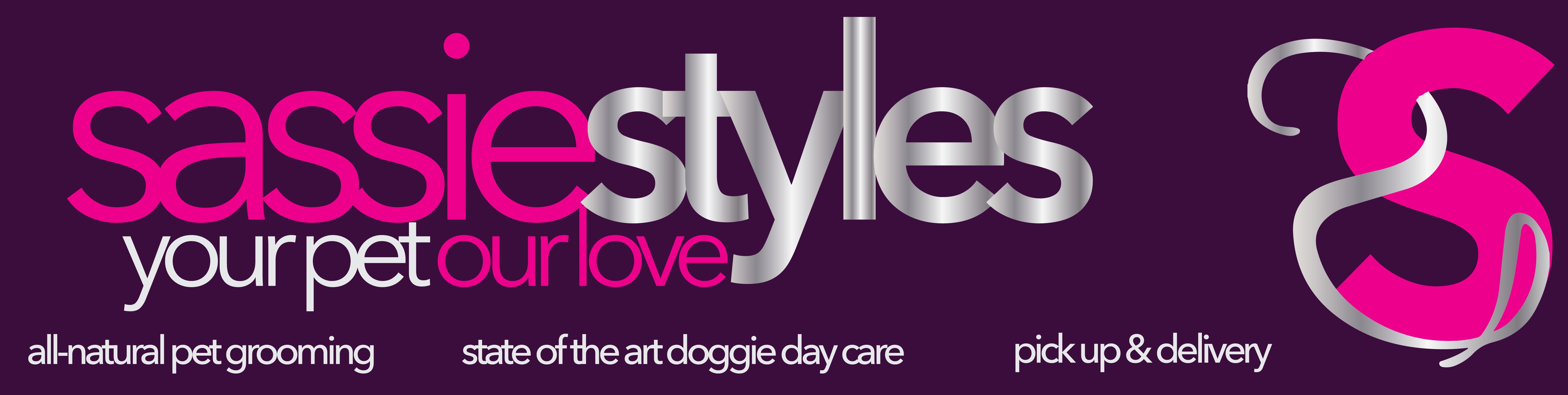 Logo Design For Www Sassiestyles Com A Dog Grooming Salon In