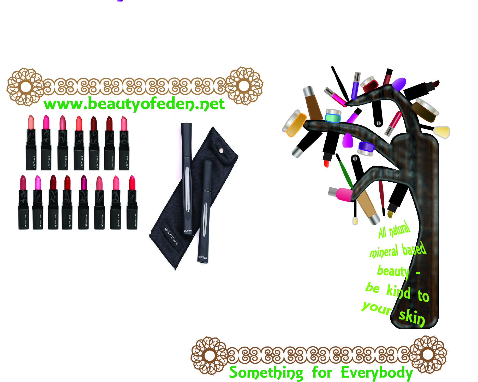 So ok I know its not great! far from! im just getting used to it all again, illustrator CS6 i self taught myself but havnt used for 3 years ive forgotten how to use so many functions but really enjoying trying to design a unique leaflet for my Younique business ;)