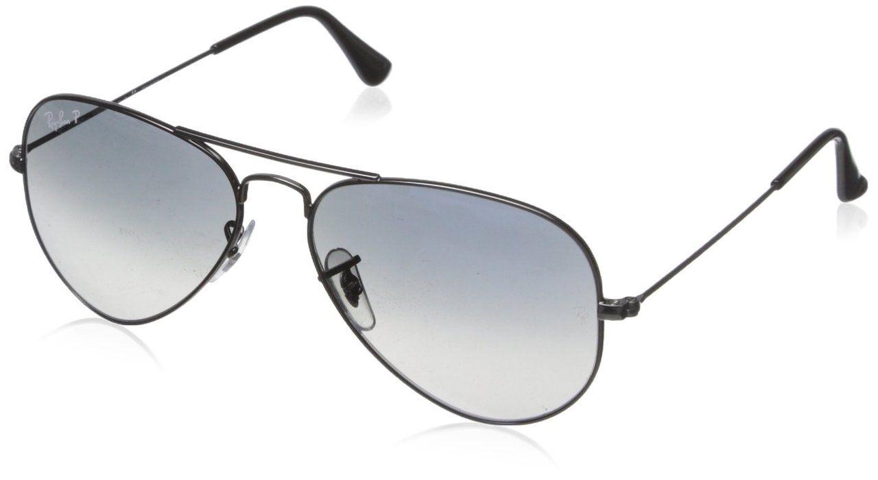 Unisex Mens Womens Gun Metal Classic Chrome Pilot Vintage Designer Sunglasses