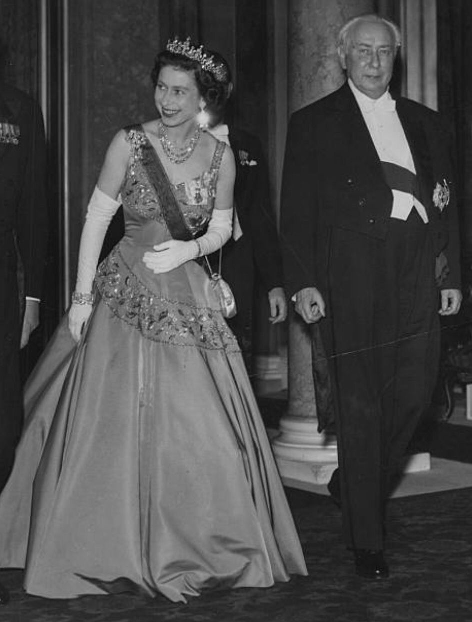 This dress was featured often on The Crown