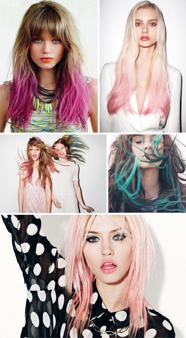 If I was brave enough... Dare to DIY: DIY Candy Hair (reversible y anti-arrepentimientos)