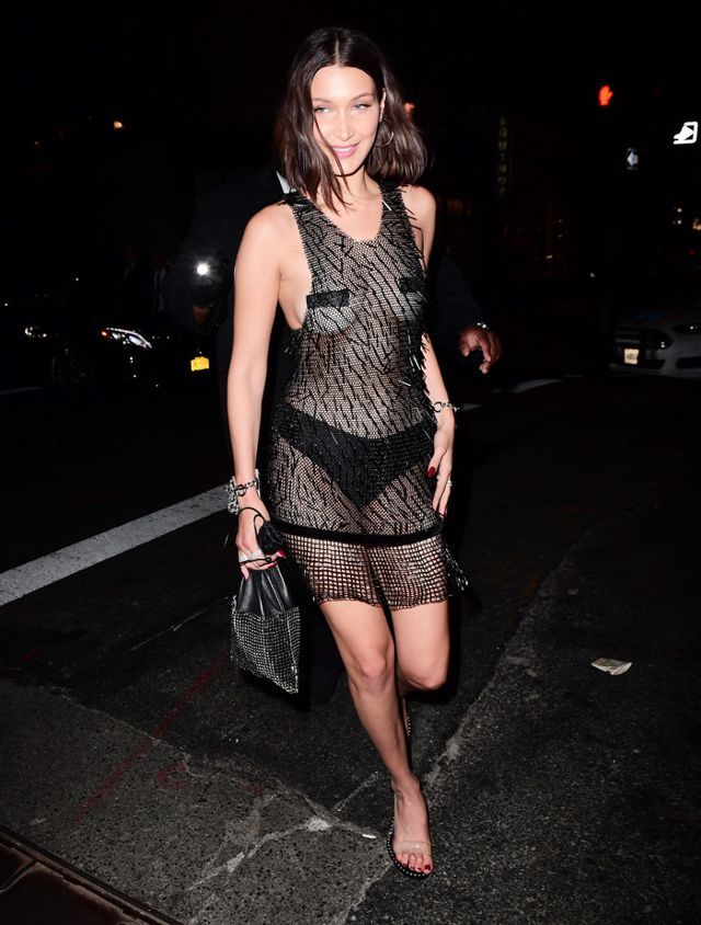 40cfda401a3 Met Gala 2017 after party outfits - Bella Hadid