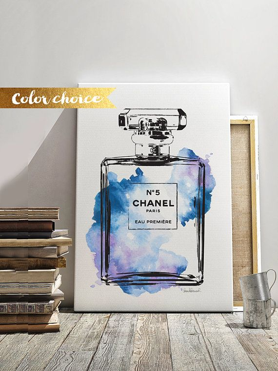 62b3b1a0d85a Size Choice Printed Chanel Canvas wall art canvas by hellomrmoon ...