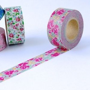 Red Floral - Washi Tape Cutie