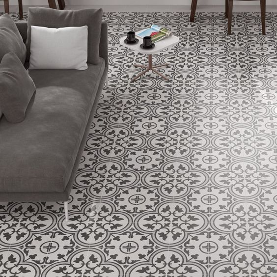 Abbey Decor Patterned Tiles Porcelain Superstore Bathroom