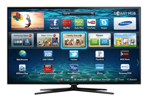 Samsung UN32ES6500 32-Inch 1080p 120Hz 3D Slim LED HDTV (Black)