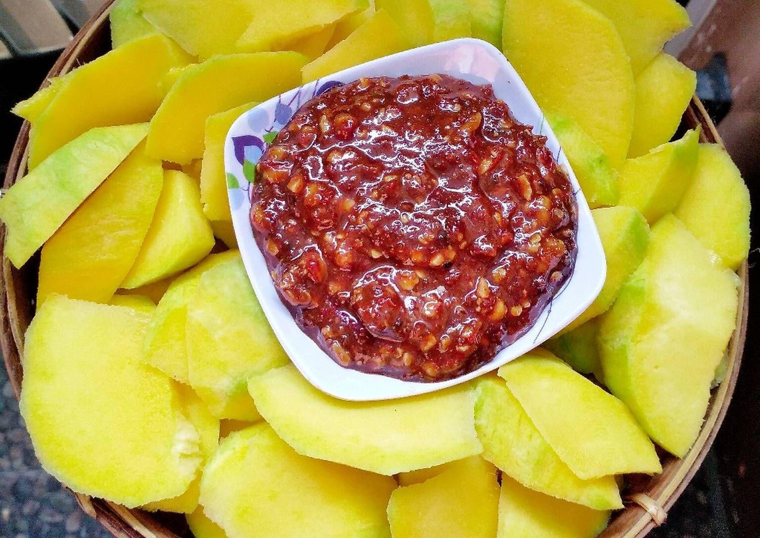 Resep Rujak Mangga Oleh Susan Mellyani Resep Makanan Dan Minuman Memasak Makanan