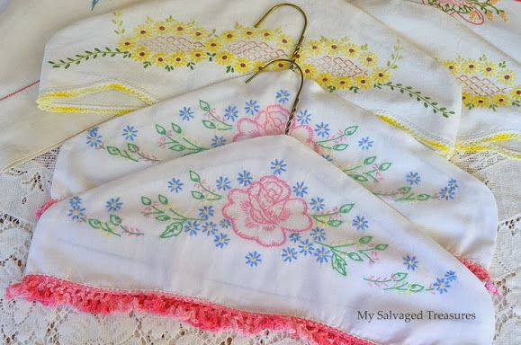 Salvaged And Repurposed Pillow Cases Vintage Pillow