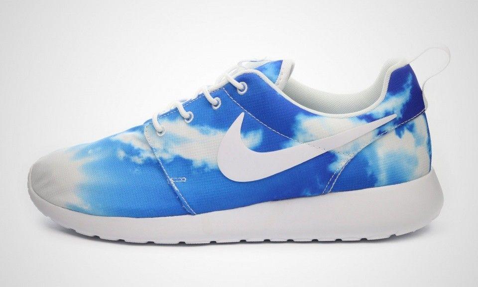 Chaussures Nike Roshe Run Bleu