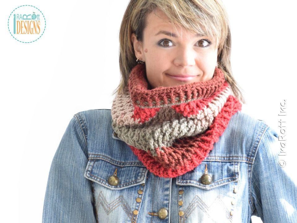 Cake Craze Chunky Cowl PDF Crochet Pattern | crochet | Pinterest