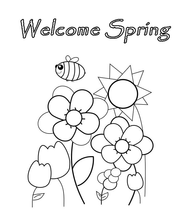 spring coloring pages Coloring pages Spring
