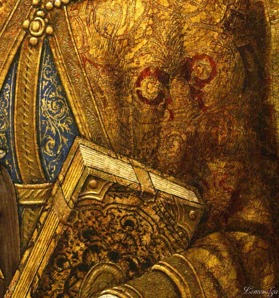 Vittore Crivelli - Santa Caterina d'Alessandria, dettaglio -  ca. 1490 - Ashmolean Museum at the University of Oxford, UK