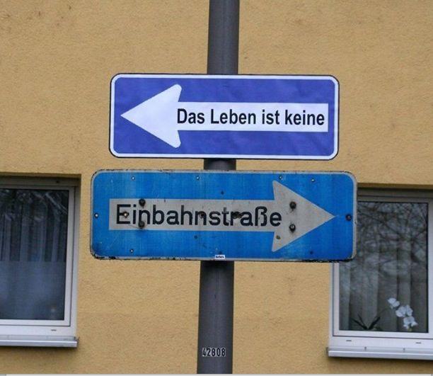Keine Einbahnstraße