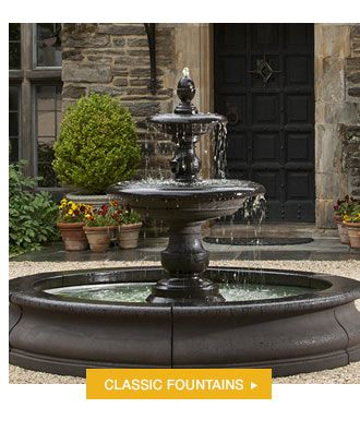 Pin By Life Is A Garden On Fountains Wells And Ponds Water Fountains Outdoor Outdoor Water Features Fountains Outdoor