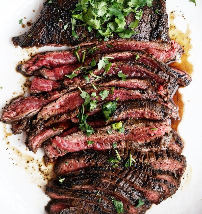 RECIPE: Asian Flank Steak #flanksteaktacos