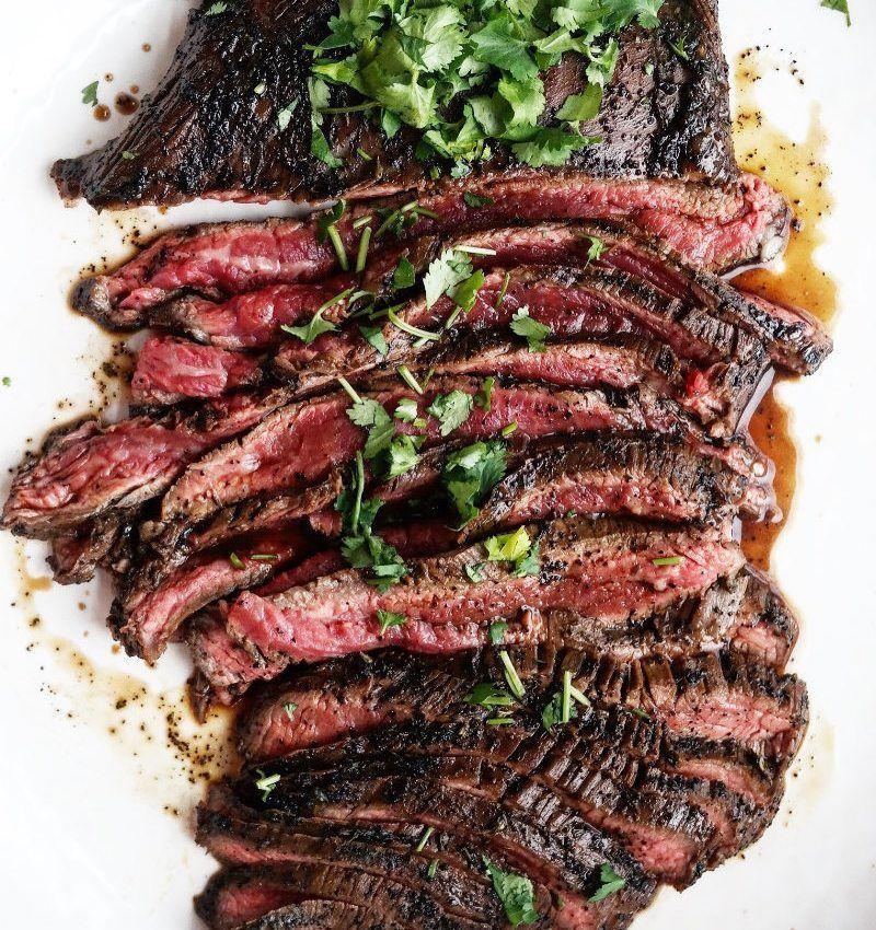 RECIPE: Asian Flank Steak #flanksteaktacos