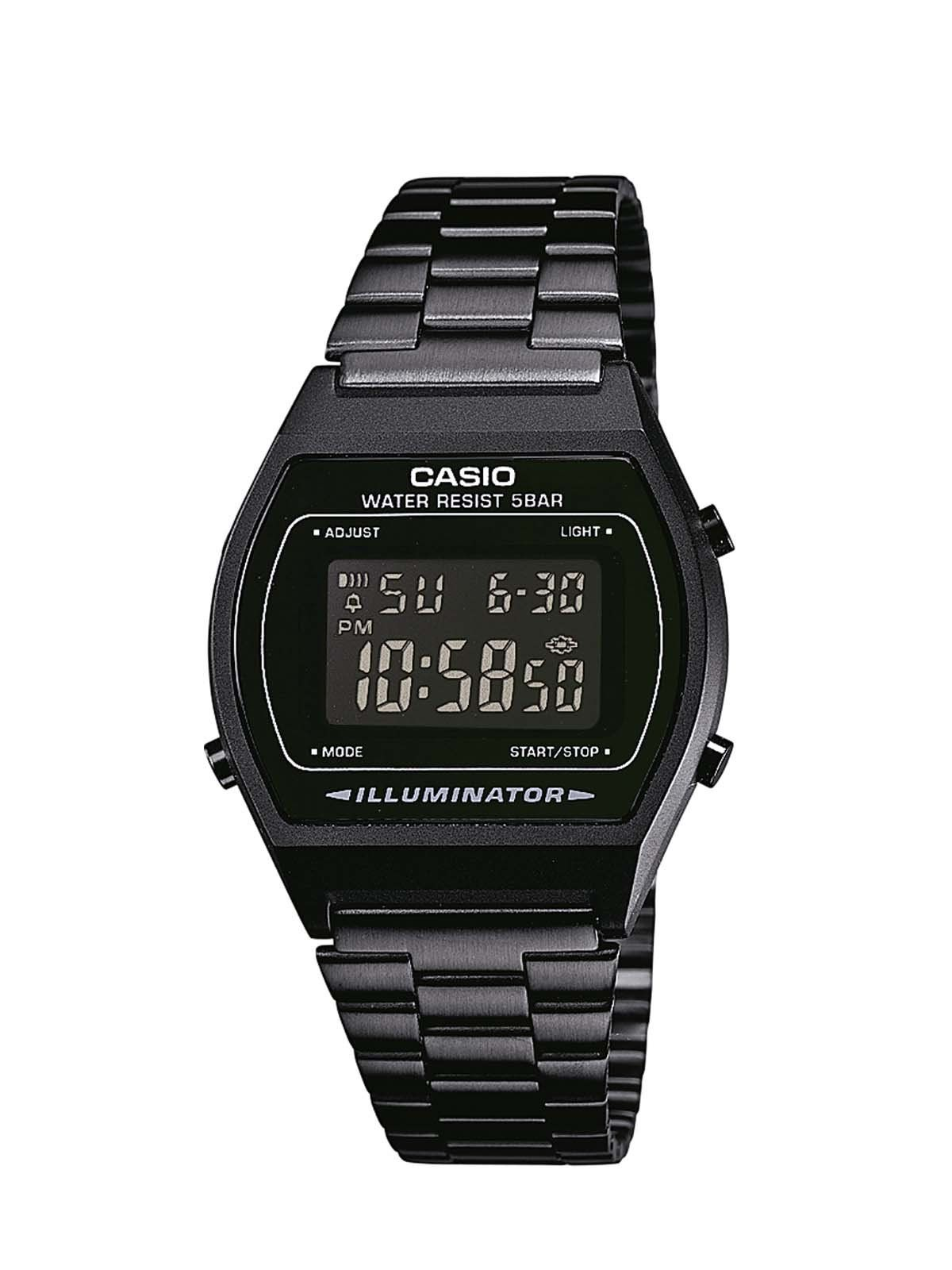 42b1c3437a18 Casio B640WB-1BEF - Reloj analógico de cuarzo unisex con correa de acero  inoxidable